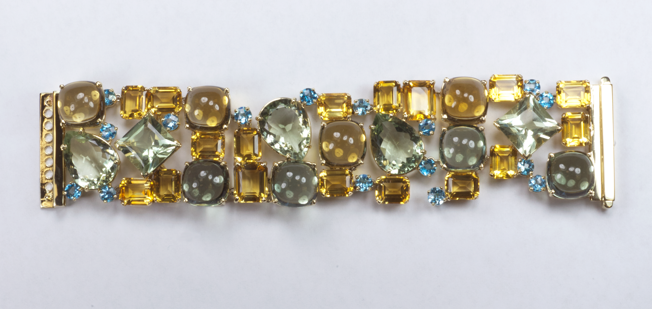 cut shop oval yellow gemstone multi gold bracelet uk products online spo