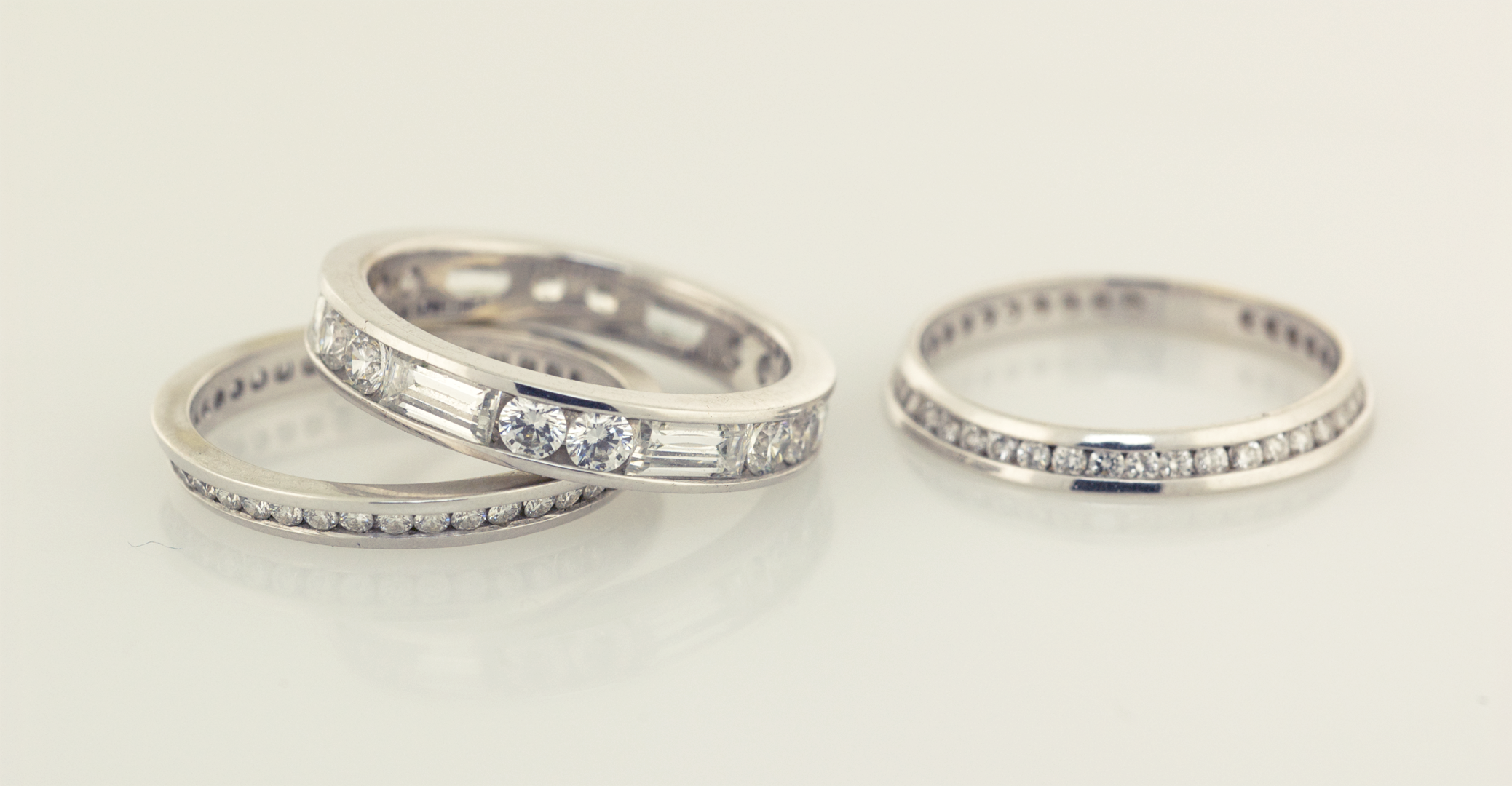 wedding products bands band collection silverscape july ring heirloom of halo copy engagement baguette anniversary designs