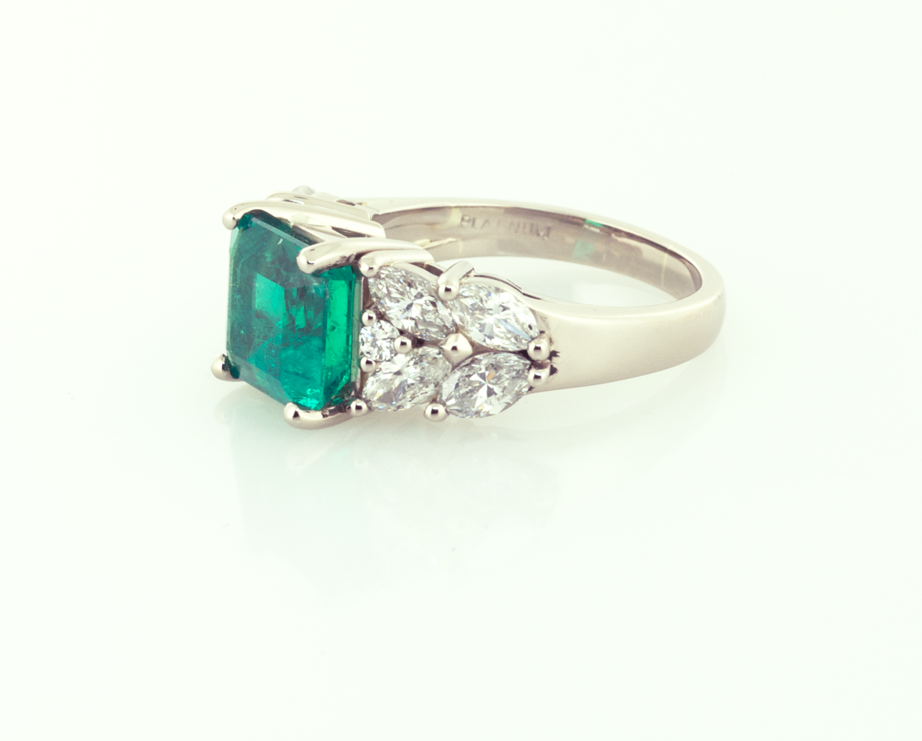 ring boutique emerald zambian engagement diamond rings