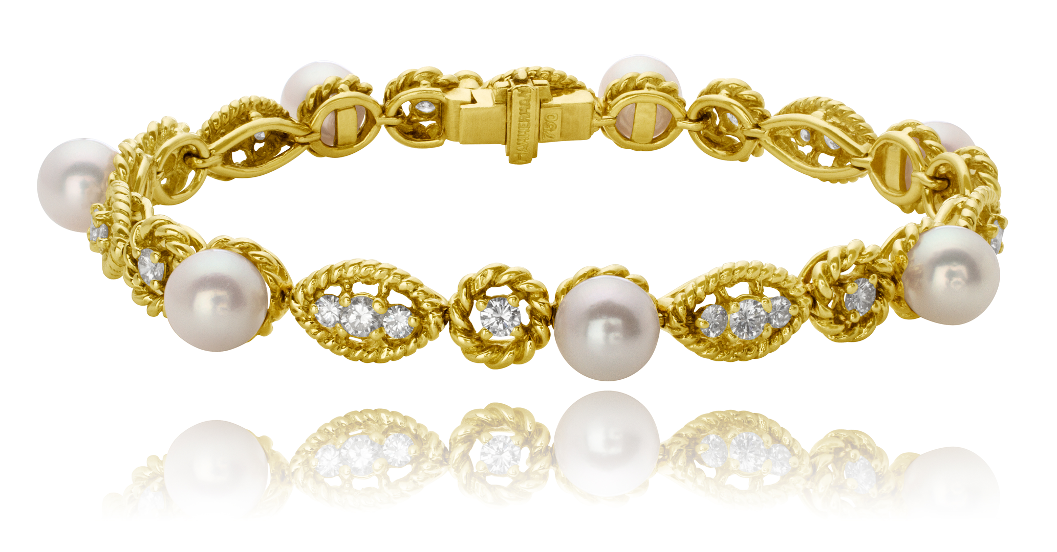 jewels christies nyr s diamond christie online pearl cultured bracelet mikimoto and