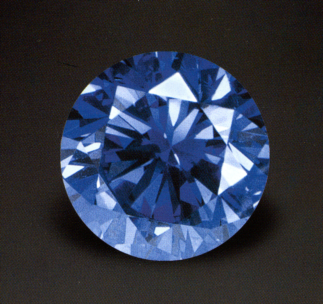 Natural blue color diamond