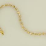 Diamond floral bracelet