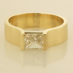 Princess cut diamond set in R1070