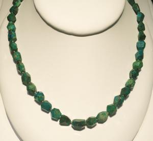 Chrysocola beads