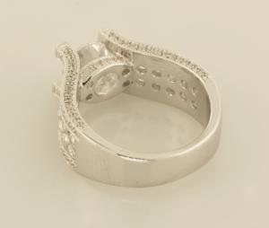 Diamond Intensive Engagement Ring