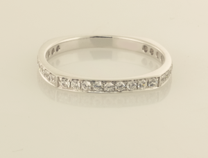 Ruby and Diamond Eternity Bands